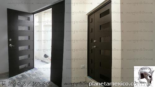 Regio Protectores - Puerta Contemporánea -xx en Monterrey