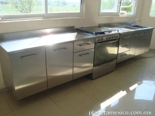 Fotos de muebles de acero inoxidable en zapopan 39 deminox 39 for Muebles en acero inoxidable bogota