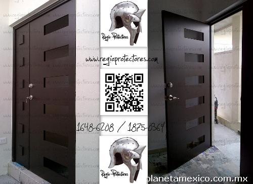 Regio Protectores - Puerta Contemporánea -xc en Monterrey